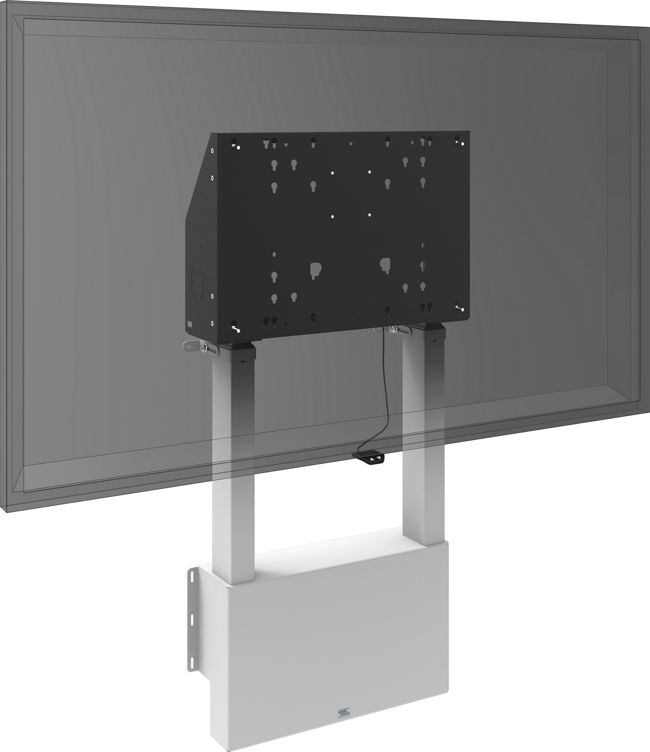 Floor Supported Wall Lift For Touch Screen Max 86 Inch