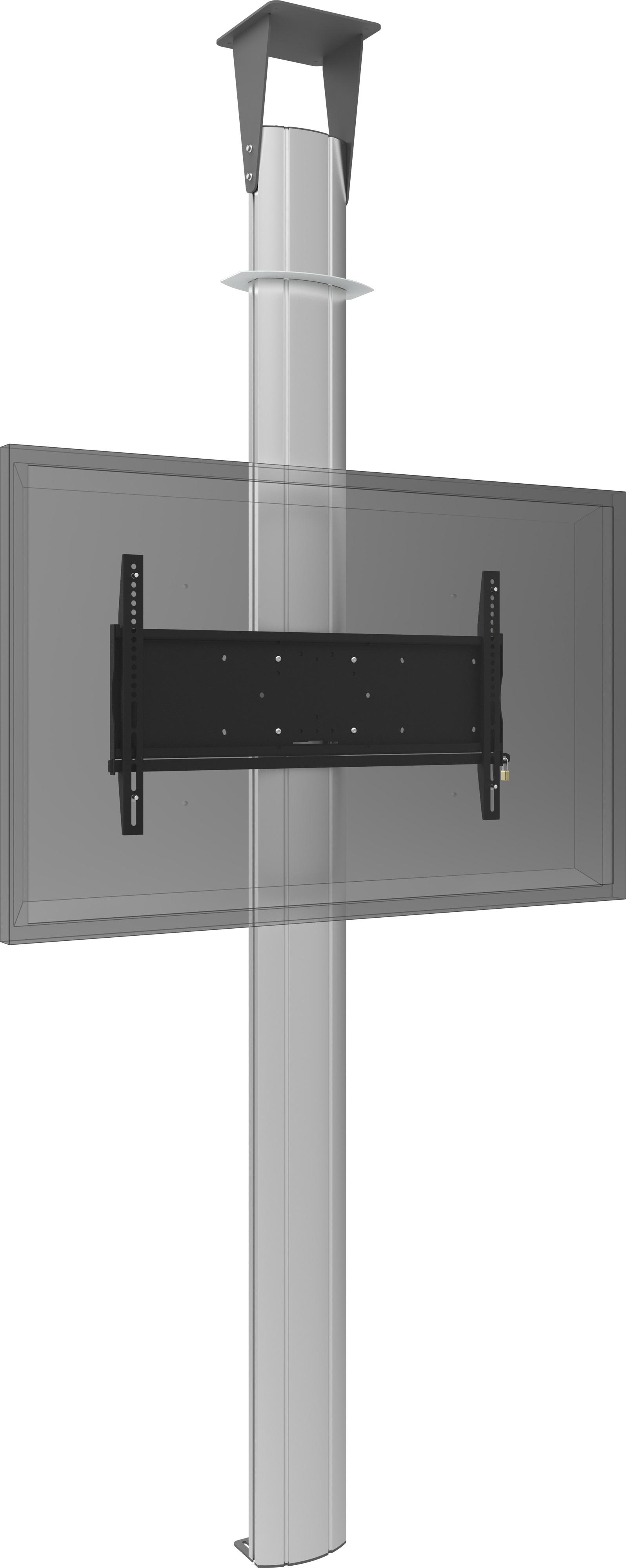 Floor to ceiling column 3000mm for flat panels max 90 for 100 floors floor 90